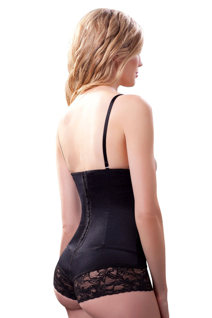 Vedette 192 Darci Strapless Shapewear Bodysuit Color Black