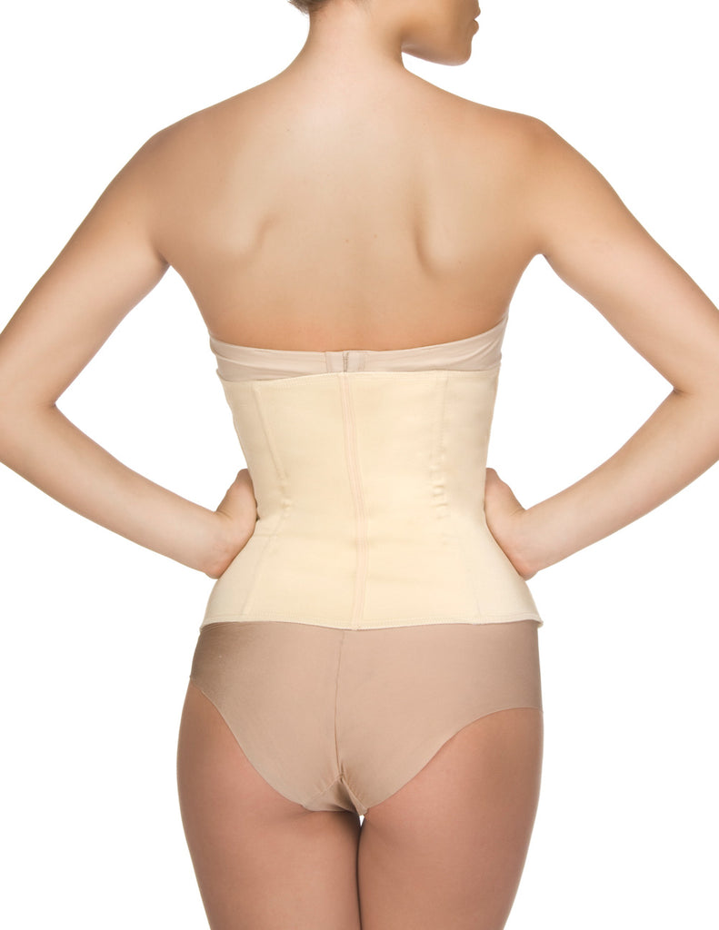 Vedette 403 Gigi Waist Cincher w/ Zipper Color Nude