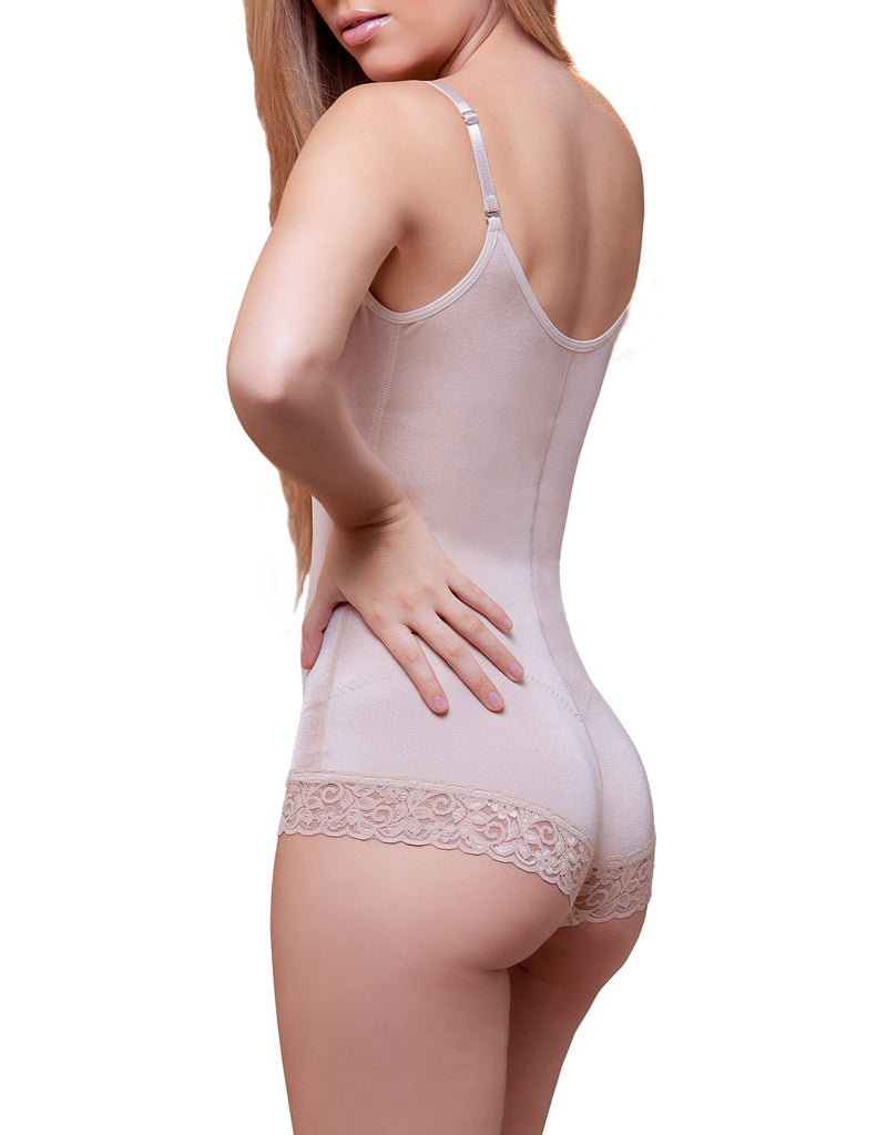 Vedette 909 Liana Sexy Waist Nipper Shapewear w/ Front Closure Color Nude