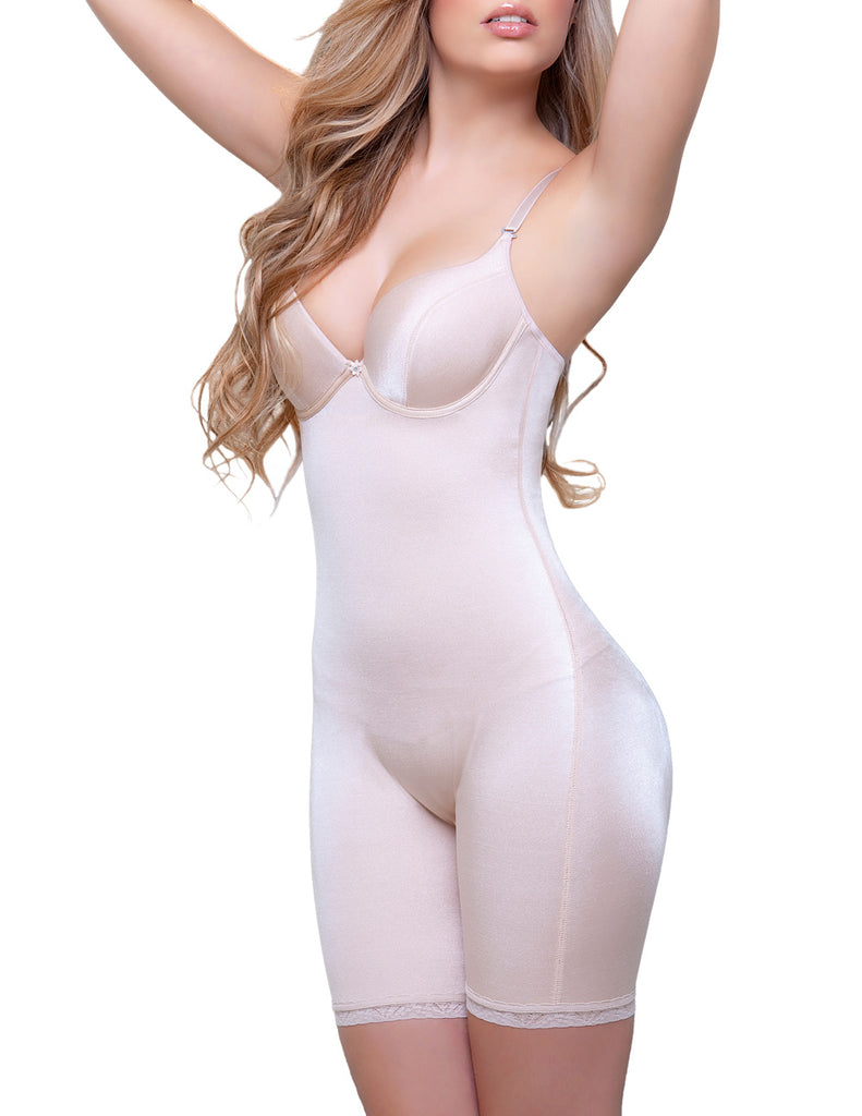 Vedette 919 Emilie Shaping Full Body w/ Bra Color Nude