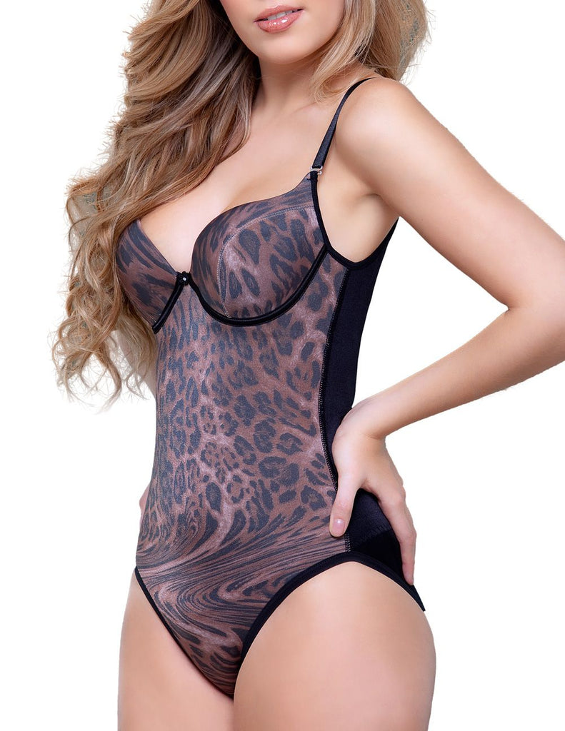 Vedette 921 Josephine Animal Print Body Shapewear Color Animal Print