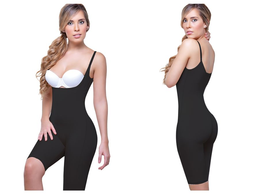 a4aa9123043d7 Vedette 931 Rubie Above the Knee Leg Full Body Shaper Color Black –  MalestromOnline.com