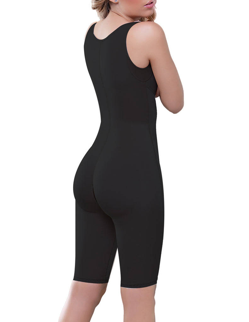 Vedette 938 Full Body Control Suit w/ High Back Color Black