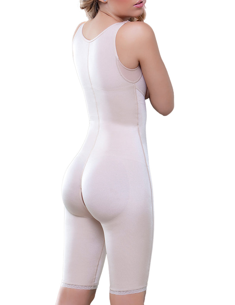 Vedette 938 Full Body Control Suit w/ High Back Color Nude