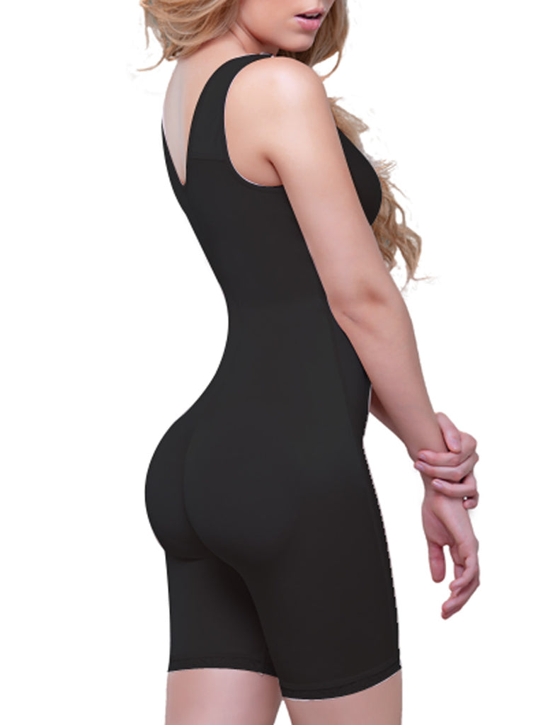 Vedette 944 Celeste Front Zipper Compression Garment Color Black