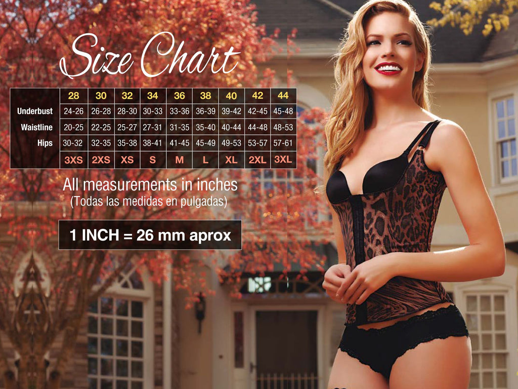 Vedette 170 Daisy Body Shaper Color Black