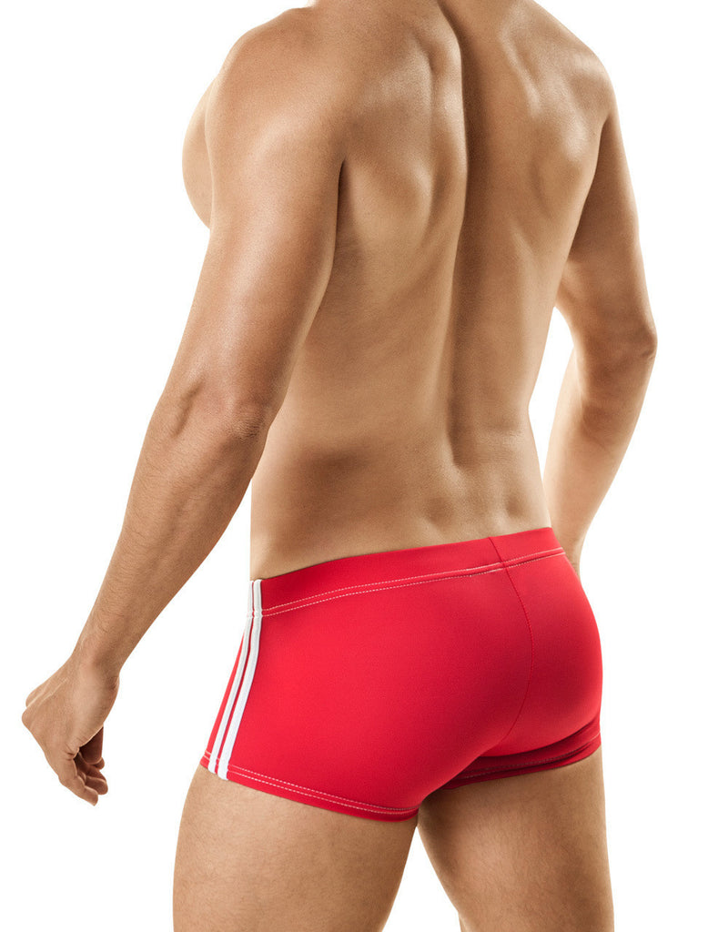Copy of MidCut Sport Swim w/Ball Lifter® Cock-Ring RED
