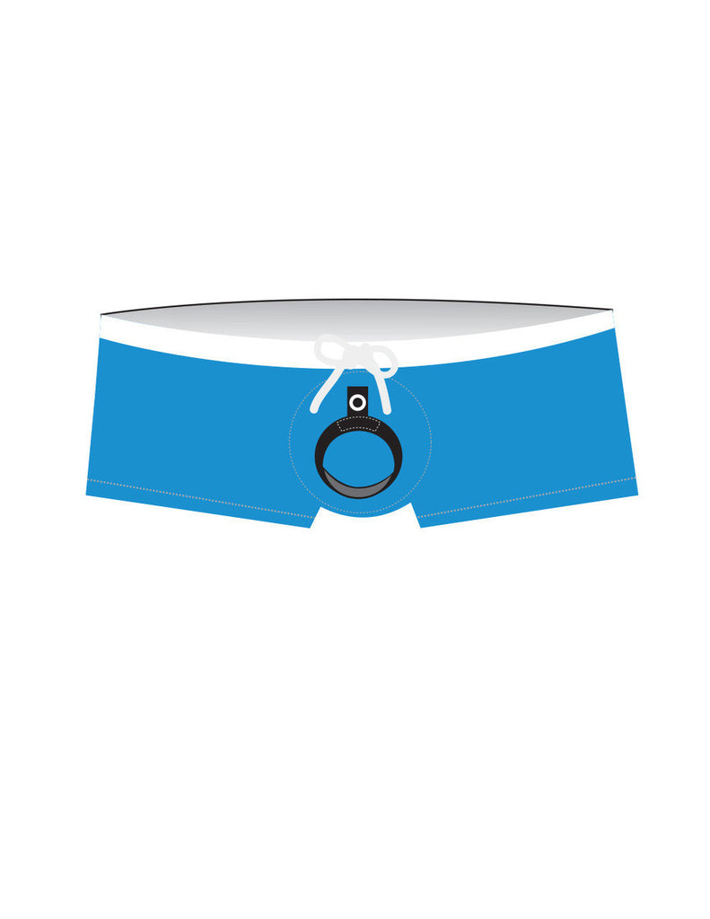9a1efa0c51 ... Wildmant: Banned Swim Square Cut w/Ball Lifter® Cock-Ring Teal ...