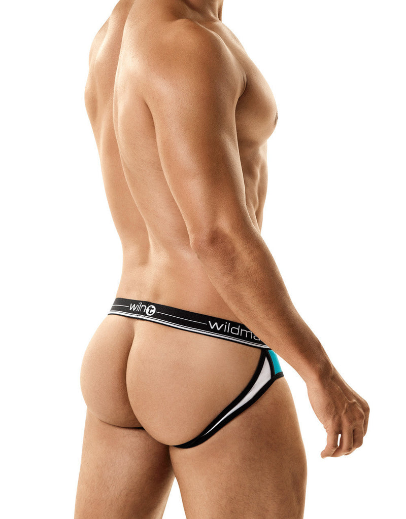 WildmanT Apollo Jock With Cock Ring Green