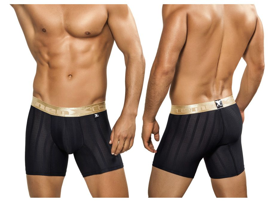 Xtremen 51317 Microfiber Boxer Color Black