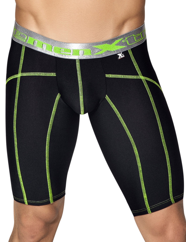 Xtremen 51339 Sports Boxer with decorative Stitching Color Black