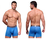 Xtremen 51374 Microfiber Boxer Briefs Color Blue