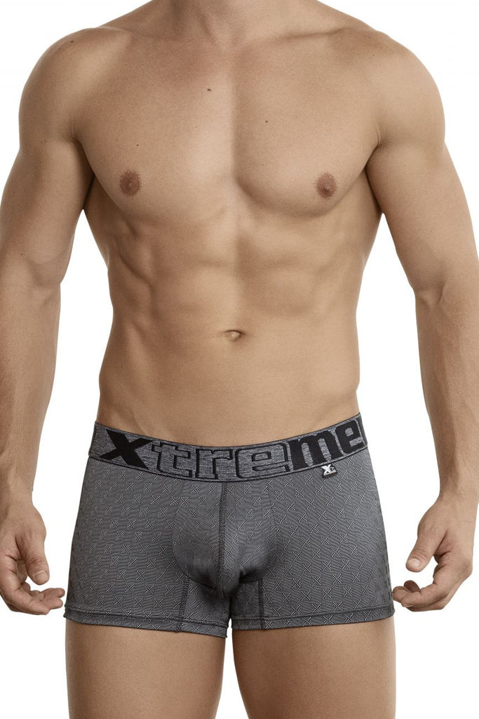 Xtremen 51442C Jacquard -X- Boxer Briefs Color Black