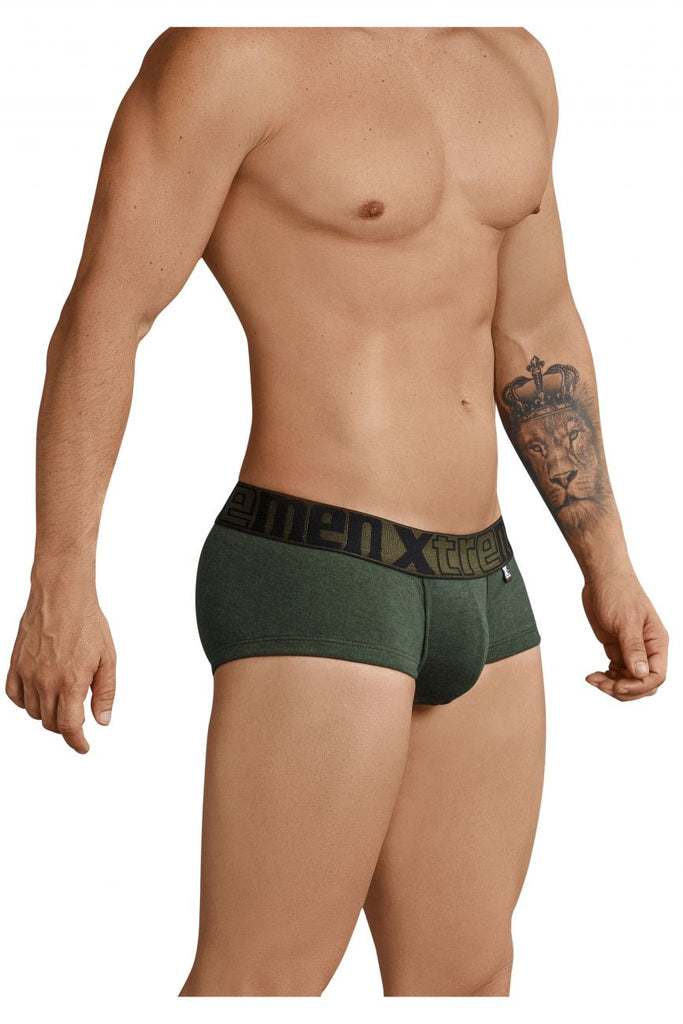 Xtremen 91034 Piping Briefs Color Green