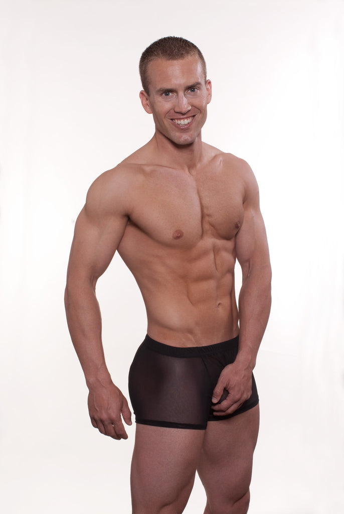 Go Softwear Satin Mesh Boxer Brief