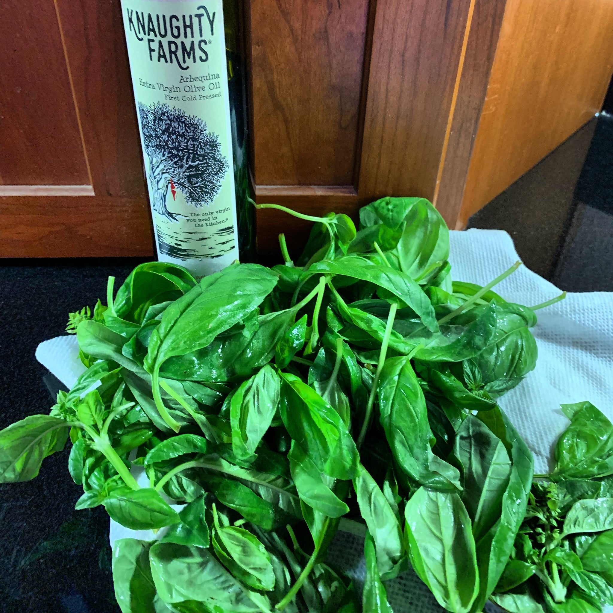 Knaughty Farms Fresh Pesto