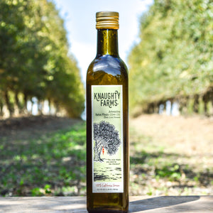 1 Bottle - Knaughty Farms® Arbequina Extra Virgin Olive Oil