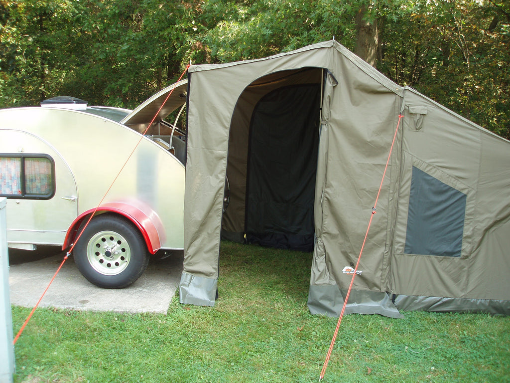 OzTent..The Perfect Teardrop Trailer Accessory