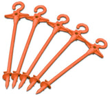 Bluescrew 5 Pack of Ground Anchors