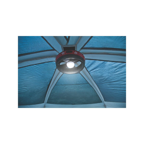 Coleman Prairie Breeze 9 Person Tent - Light Hung Up  sc 1 st  Family Tent C&ing & 14x10 9 Person Tent | Prairie Breeze Cabin Tent