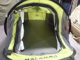 Malamoo 3 Second Classic Tent Front Inside