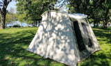 Kodiak Canvas Tent 10x10 Deluxe  Rear View