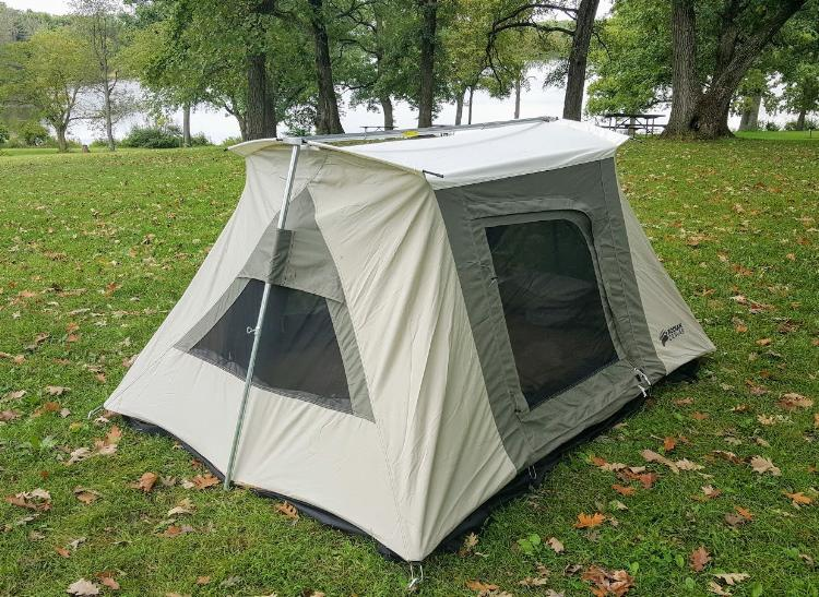 Kodiak Canvas 8 5 x 6 ft Flex Bow 2 Person VX Tent - 6086