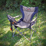 Jet Tent L Chair with Adjustable Table Tilted