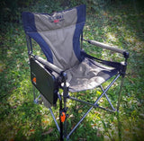 Jet Tent L Chair with Adjustable Side Table - Side Mounted