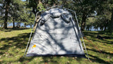 Oxley 5 Lite Tent - No Rainfly All Panels Closed