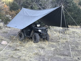 Kodiak Canvas Awning Tarp Cover with Poles Super 6 - 2061