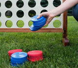 Giant Connect 4 Yard Game Discs