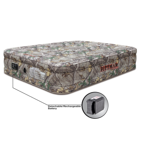 Pittman Outdoors Queen Double High Mattress