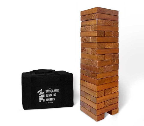 Stained Stacking Timber with Carry Case