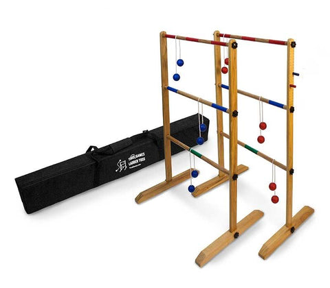 Ladder game and carry bag