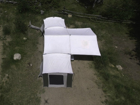 new products fd510 04020 Kodiak Grand Cabin Tent 12 Person with Awning 26x8 6160