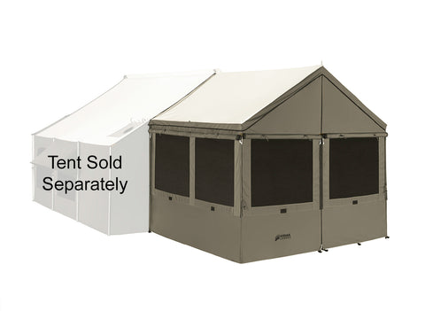 Kodiak Awning Enclosure Accessory - 8x8
