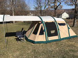 Wildcat Outdoor Bobcat 500 Tent Side View-Windows Rolled Up