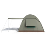BushTec Adventure 6 Person Dome Tent - Side View
