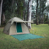 Bushtec Adventure 6 Person Dome Tent Front View