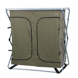 Sierra 4 Shelf Double Camp Cupboard-Closed