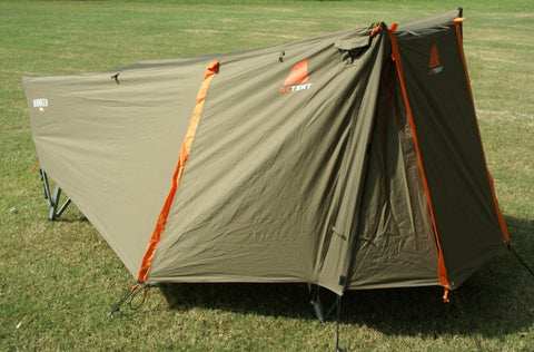 Oztent Bunker Pro Tent Cot - Closed View