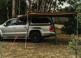 Oztent Foxwing 270 degree Awning Mounted on Pickup