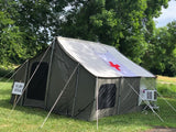 Kodiak Cabin Lodge Tent w A/C Unit on Side