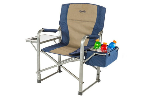 Kamp Rite Directors Chair with Side Table and Cooler