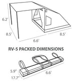 Oztent RV 5 Tent - Dimensions