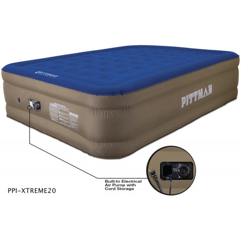 "Pittman 20"" Air Mattress with Built in Electric Pump"