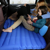 Backseat Air Mattress with Users