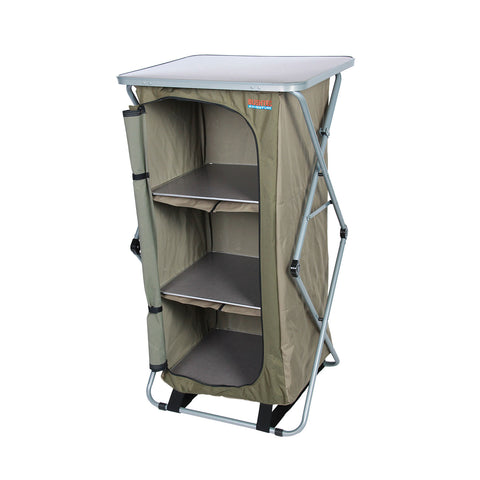 Sierra Single Camp Cupboard with Shelving