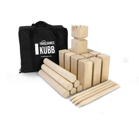 Kubb Game Set and Carry Case